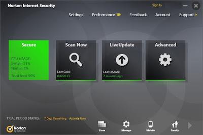Norton Internet Security 22.16.2.22