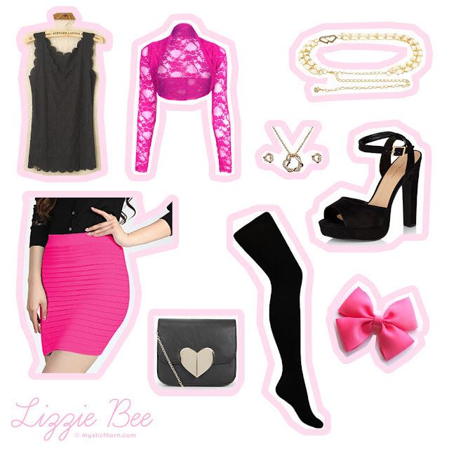 budget agejo, outfit, gyaru