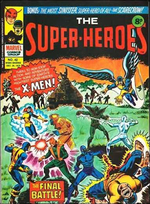 Marvel UK, The Super-Heroes #42, the X-Men