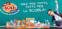 Logo Con Festa del Sole vinci 350 set Scuola e buoni Amazon