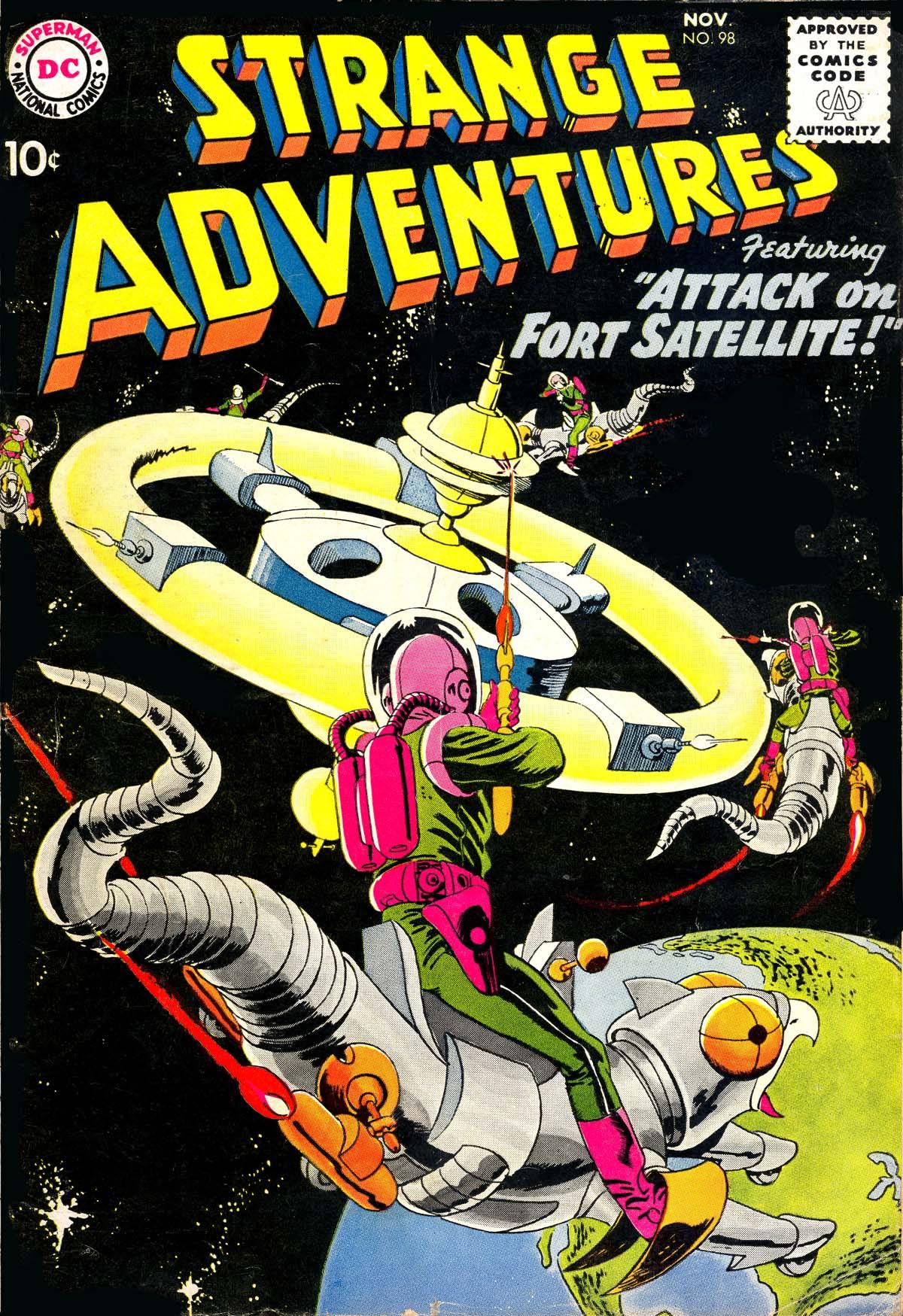 Strange Adventures (1950) issue 98 - Page 1