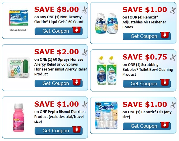 print todays new coupons