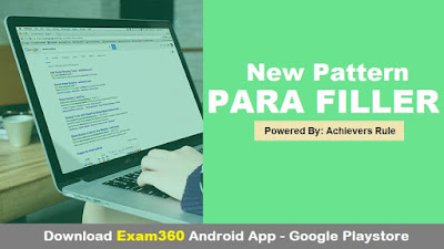 New Pattern English Parafiller for IBPS Exams