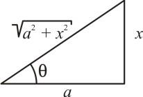 Triângulo retângulo - tangente