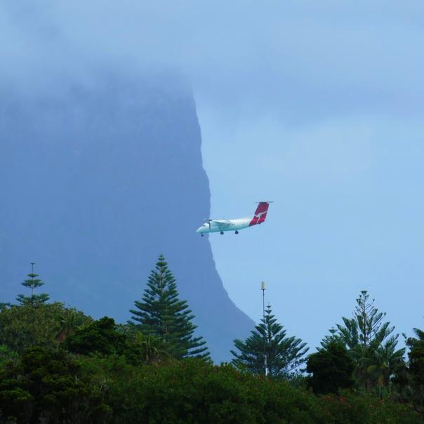 Lord Howe Island Landung Qantas schwierig Wetter Tipps gegen Flugangst