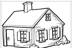 Ausmalbilder zum Ausdrucken: Ausmalbilder Haus zum Ausdrucken