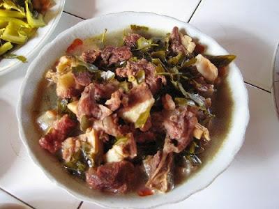 Cùng thưởng thức món ăn thịt trâu xa bần thơm ngon ấn tượng