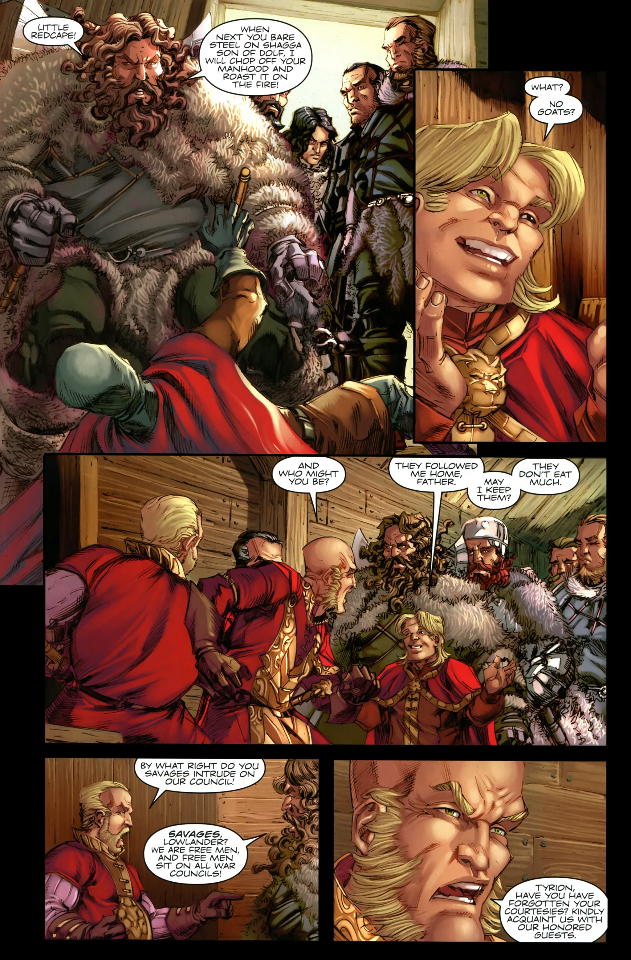 Read online A Game Of Thrones comic -  Issue #19 - 12
