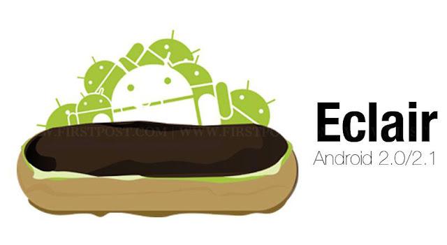 Android v2.0 dan v2.1 Eclair