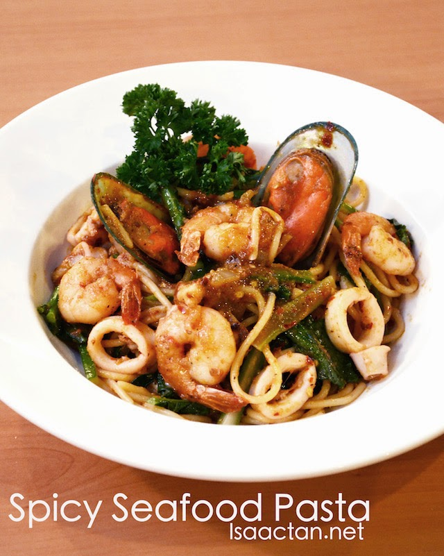 Spicy Seafood Pasta - RM24.90