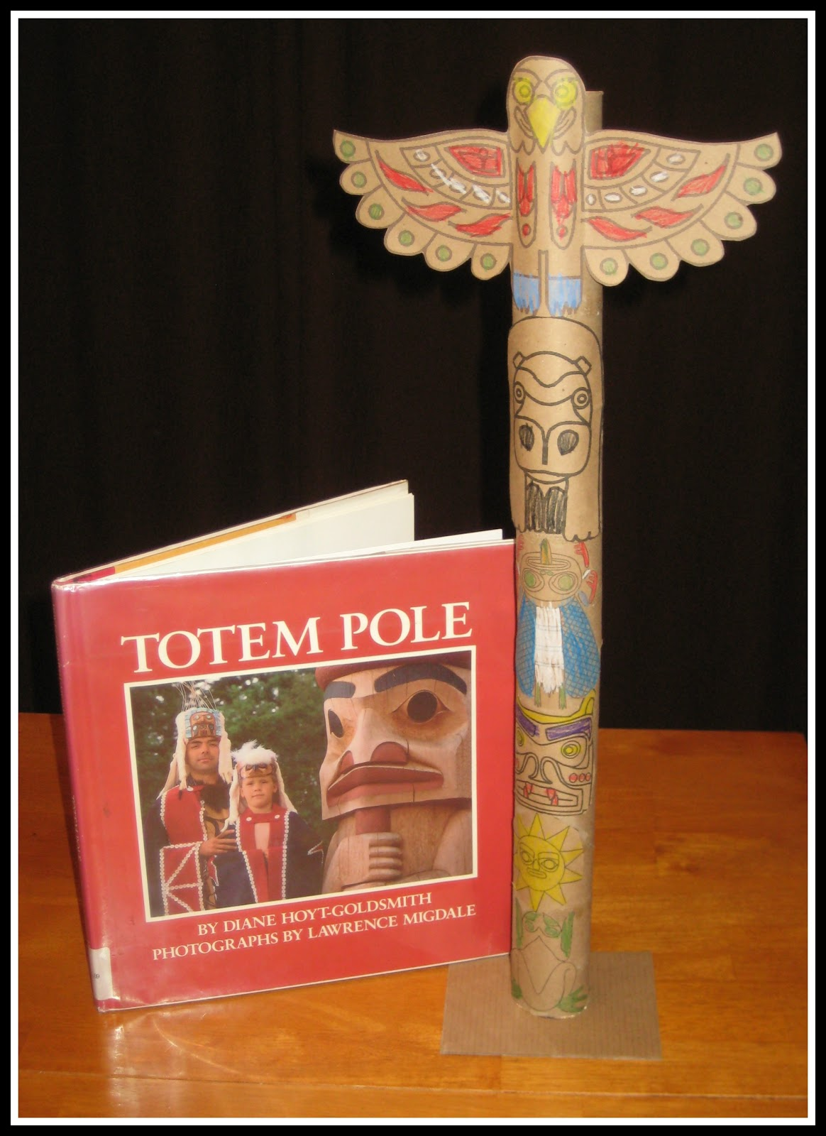 Relentlessly Fun Deceptively Educational Making A Miniature Totem Pole