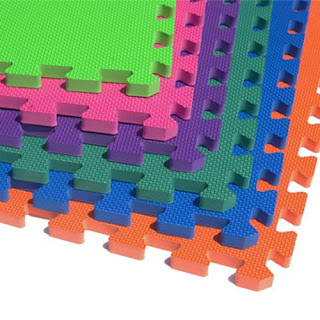Greatmats interlocking foam tiles