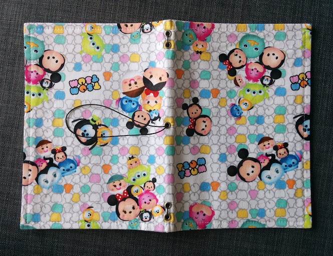 DIY Traveller's Notebook Midori / Fauxdori Journal Cover