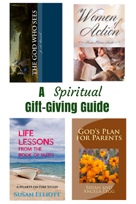 A Christmas gift-giving guide for Christians.  Forget the gadgets and gizmos and give your friends or loved ones a spiritual gift.