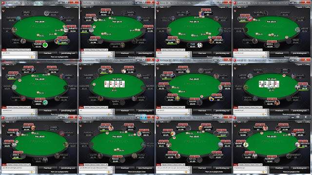 Play more online poker tables
