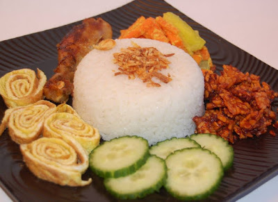Gambar Resep Nasi Uduk Ala Kebon Kacang Istimewa