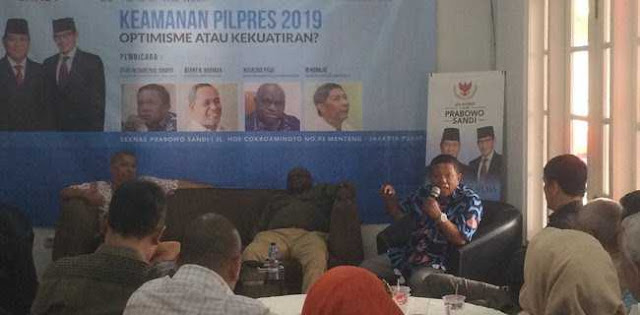 Letjen (Purn) Suharto: Pilpres 2019 Seperti David Lawan Goliath