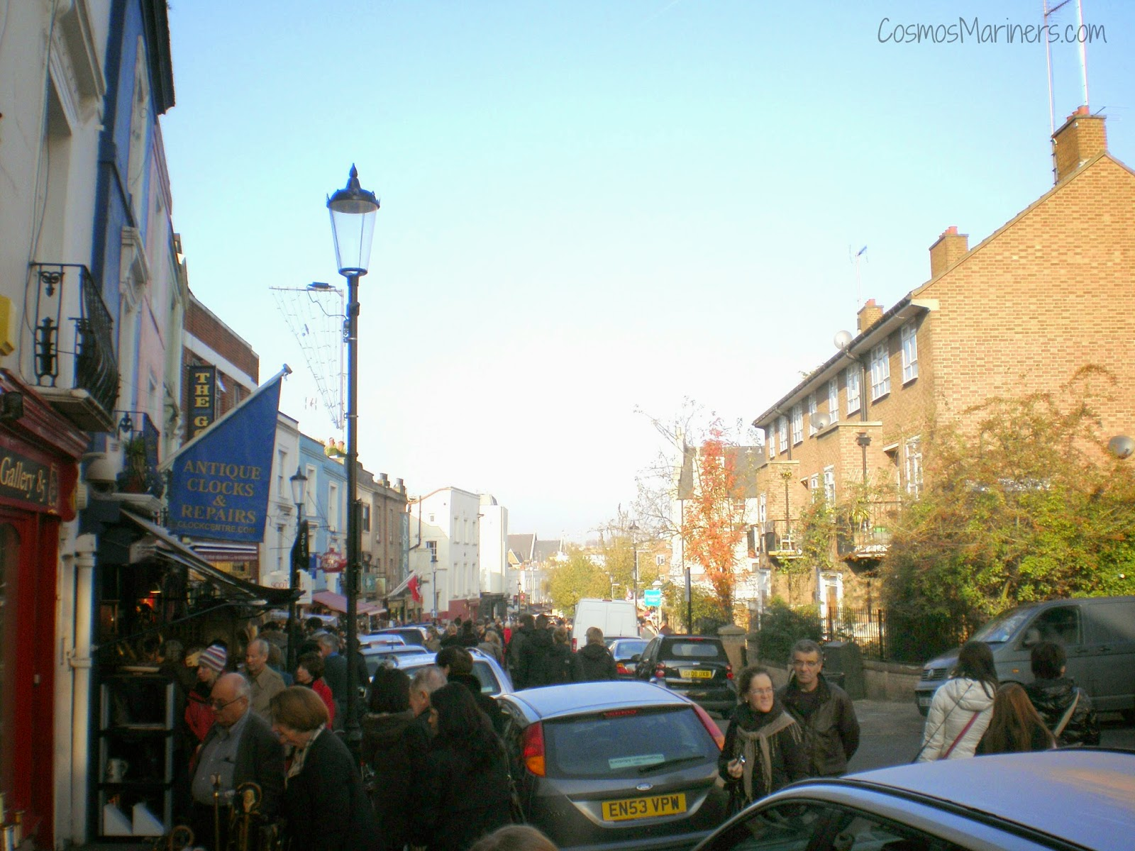 Portobello Road Market and West End Theatre | CosmosMariners.com