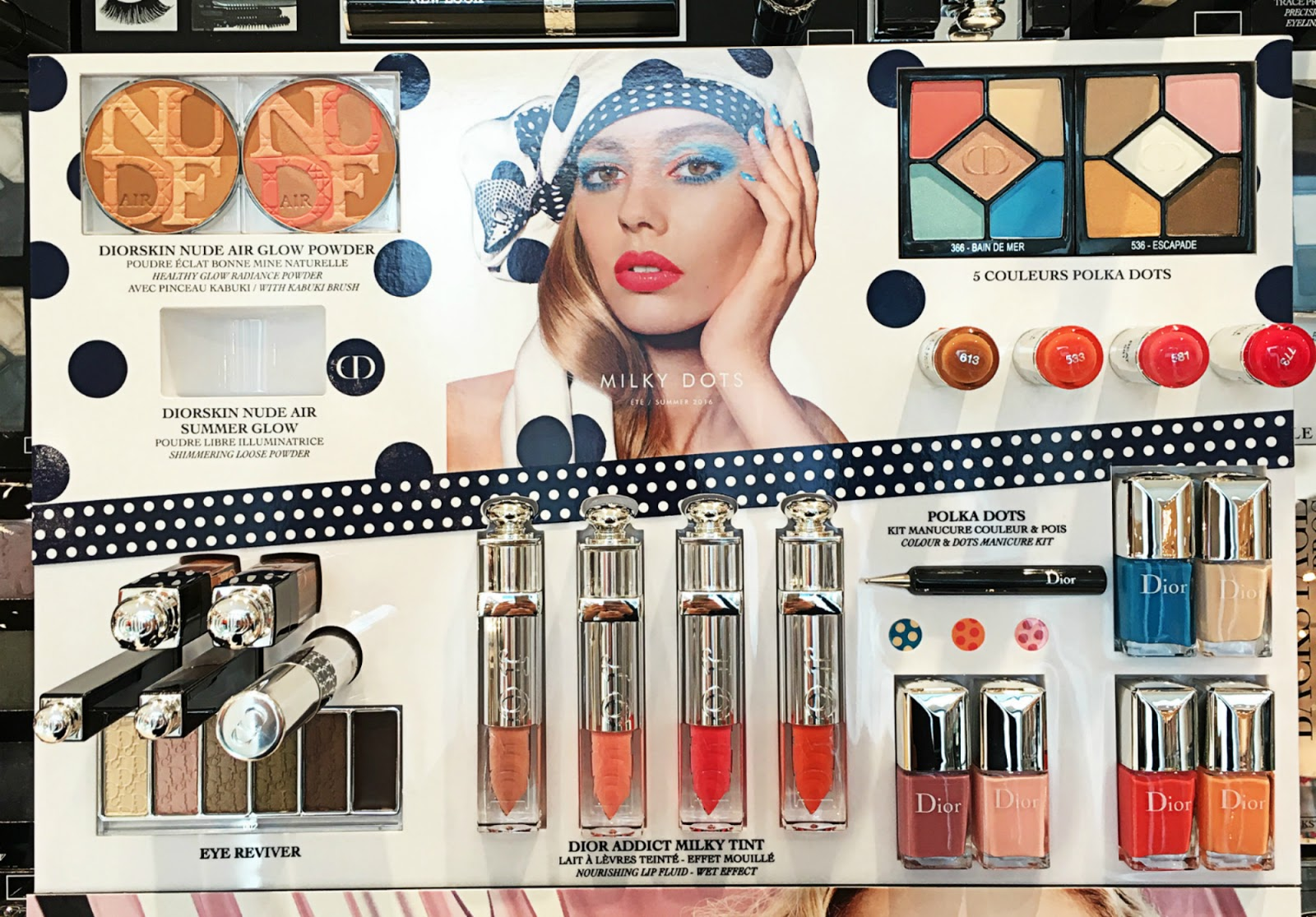 Summer dior mix makeup collection pictures