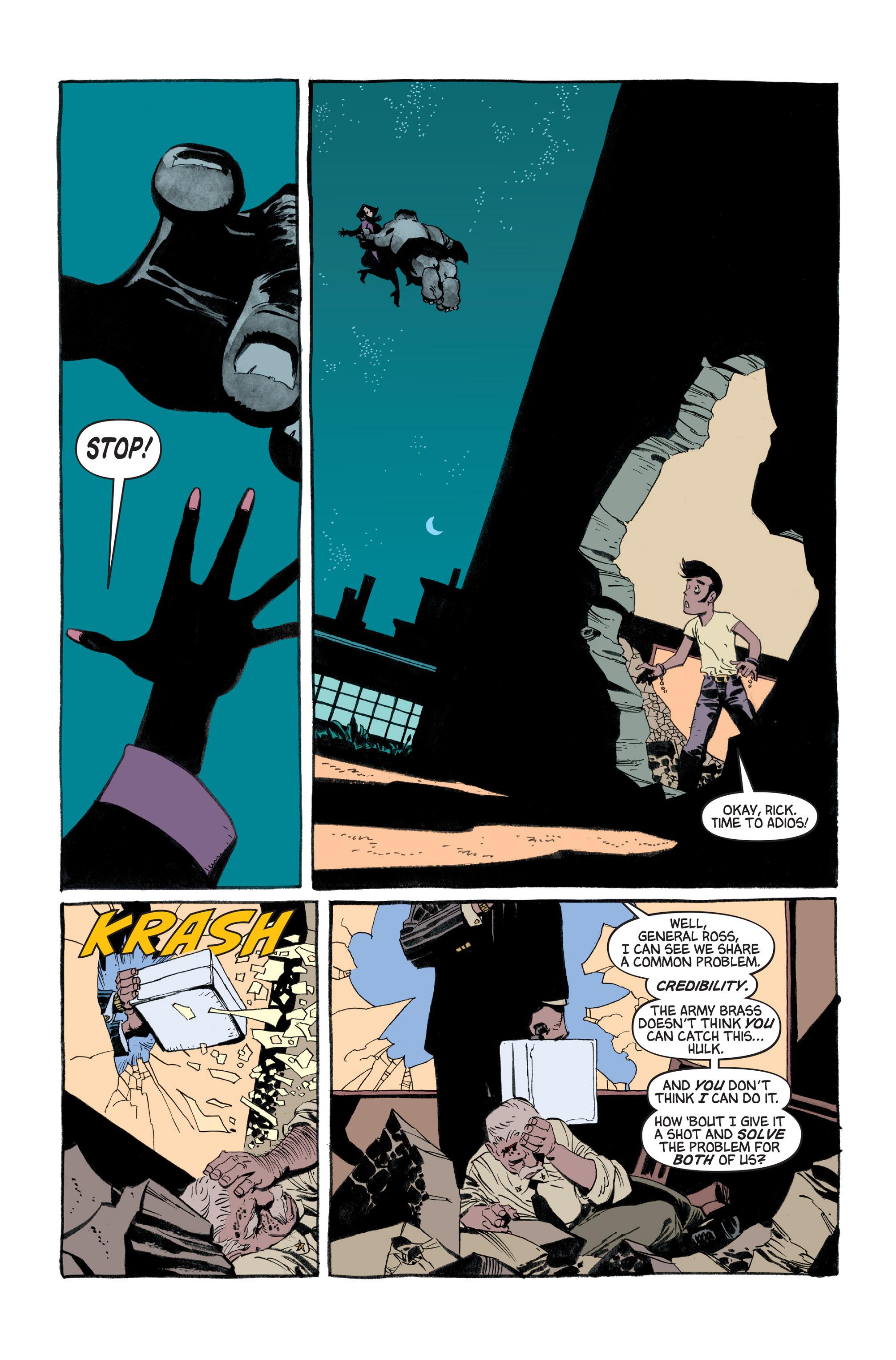 Read online Hulk: Gray comic -  Issue #3 - 20