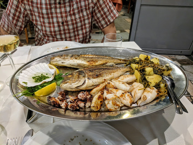 """Where to eat in Piran Slovenia: Gostišče """"Pirat"""""""