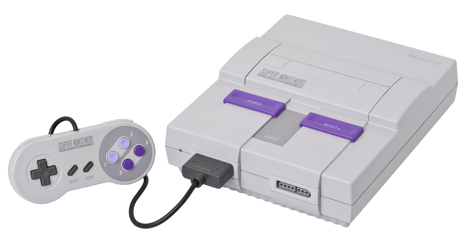 Imagen de la videoconsola Super Nintendo, 1991, fotografía de Evan-Amos (cc:by-sa)