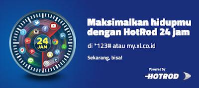 Paket Internet Hotrod Harian XL Cara Daftar dan Tarif Februari 2017