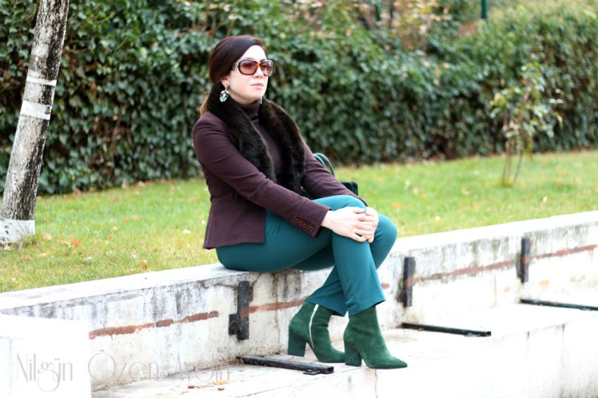 moda blogları-botlar-yeşil botlar-boots-green boots-green suede boots-fashion blog-moda blogu