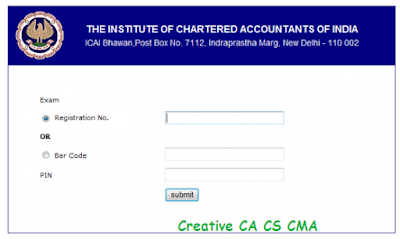 Download CA Final and CA IPCC Admit Card May 2016 - CA CS CMA Info