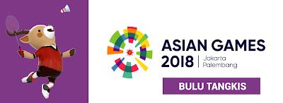 Hasil Live Skor Bulutangkis di Asian Games 2018