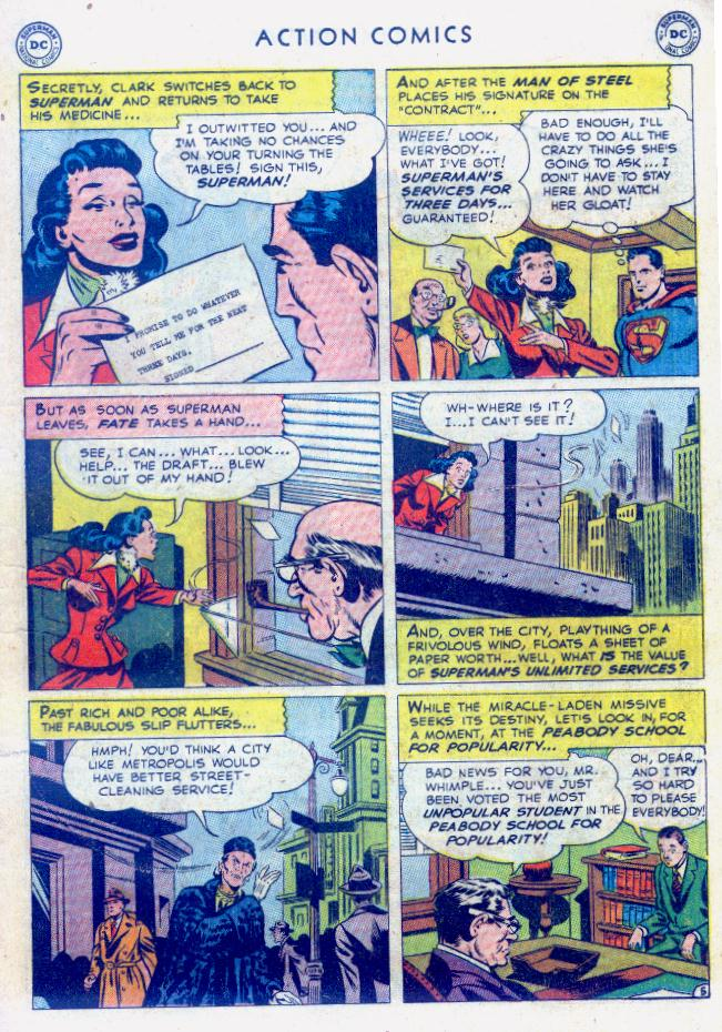 Read online Action Comics (1938) comic -  Issue #159 - 7
