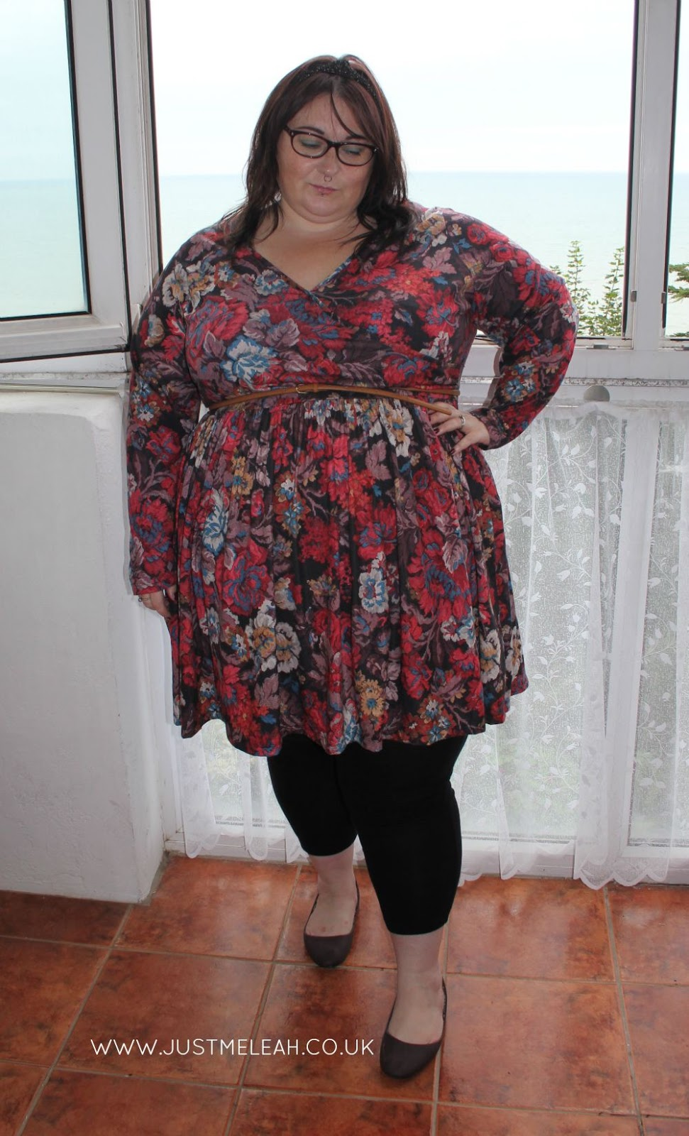 PLUS SIZE FLORAL DRESS ASOS CURVE