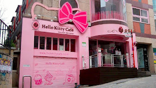 Cefeteria Hello Kitty Cafe