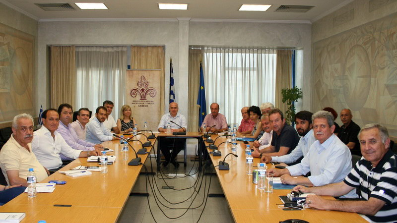 Σύσκεψη στην Κομοτηνή υπό τον πρόεδρο του ΕΛΓΑ Θεοφάνη Κουρεμπέ