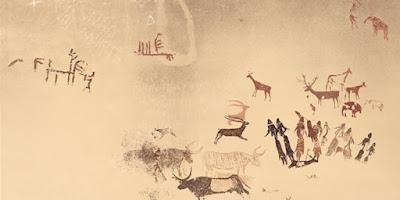 Pintura Roca de los Moros. Cogull