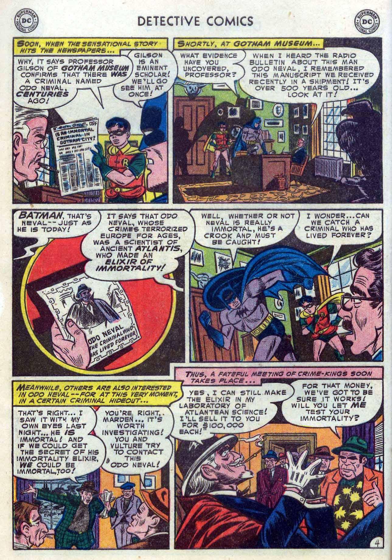 Read online Detective Comics (1937) comic -  Issue #204 - 6