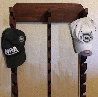 Hand-crafted Cap Rack