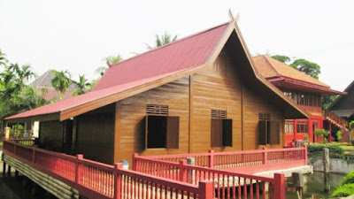 Keindahan Rumah Adat Sumatera Selatan