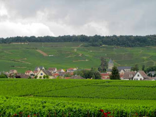 Typical Champagne Village Champagne Route France