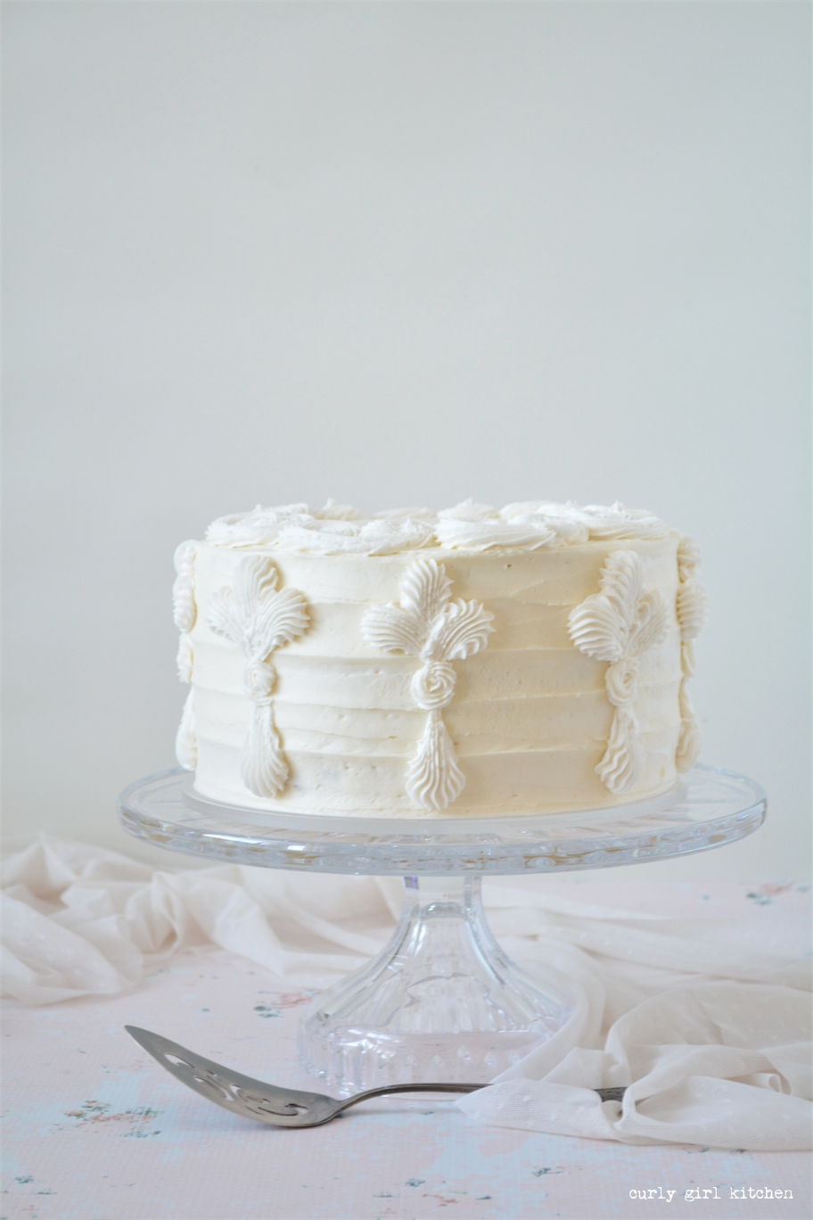 Curly Girl Kitchen Lemon Cake
