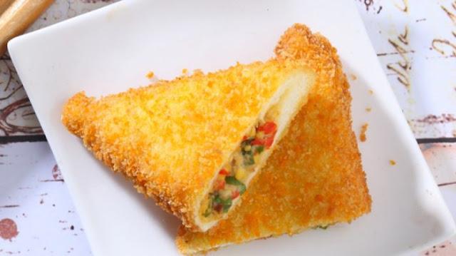 Resep Roti Goreng Lapis Udang