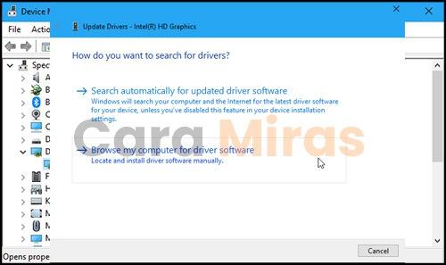 Bagian Update driver
