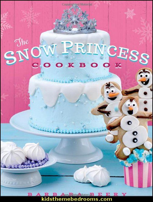 The Snow Princess Cookbook  Frozen themed birthday party ideas - Disney Princess Costumes - Disney Frozen Party Supplies Elsa, Anna, Olaf  - Disney Frozen theme - Frozen Birthday Invitations - frozen party supplies winter wonderland theme - snowflake themed birthday party - frozen costume - Frozen costumes - Frozen Elsa costumes -