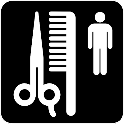 Gambar Ilustrasi barbershop. Rambut, Memotong, Laki Laki, Barbershop, Sisir, Gunting. Foto : pixabay. https://pixabay.com/en/hair-cut-men-barbershop-comb-43987/