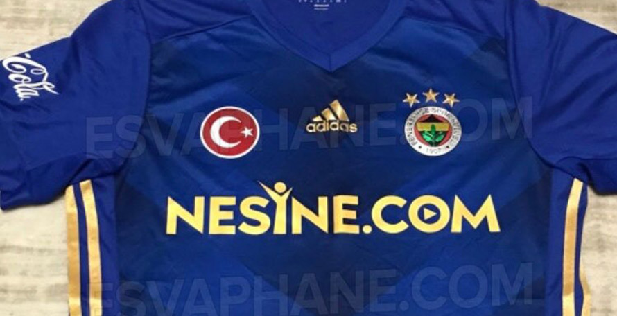 6d6c7dcfb A while ago, we've received an image of a prototype kit version, showing  off an early design of the Fenerbahce 17-18 away jersey, courtesy of  @esvaphane.