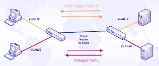 THE SCHOOL OF CISCO NETWORKING (SCN): CISCO - NATIVE VLAN CONFIGURATION: