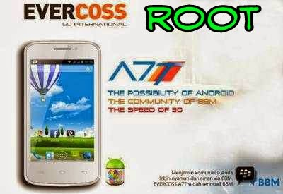 CARA ROOT EVERCOSS A7T TANPA PC