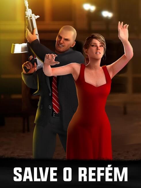 Sniper 3D Assassin Dinheiro Infinito / Apk Mod Menu 2021 v 3.38.5