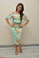 Nikki Galrani in Cute Dress Dress At Marakathamani Success Meet ~  Exclusive 031.JPG