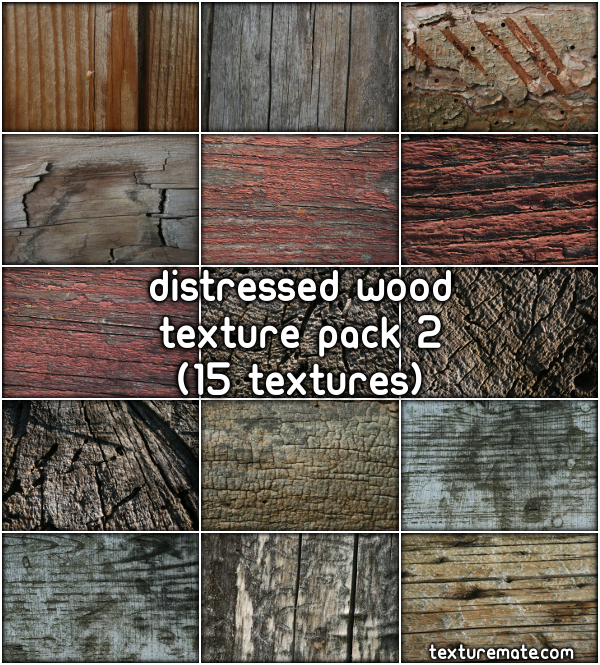 Free Texture Pack for Commercial Use - Distressed Wood 2